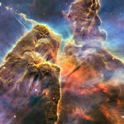 Avaruusteleskooppi Hubblen ottama valokuva avaruudesta.