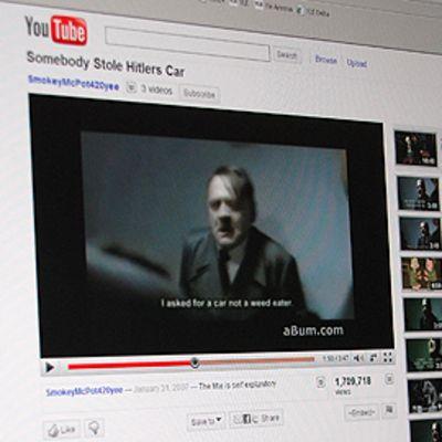 Kuva YouTube-sivustosta