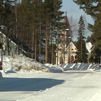 Lestijärven kyläraitti.
