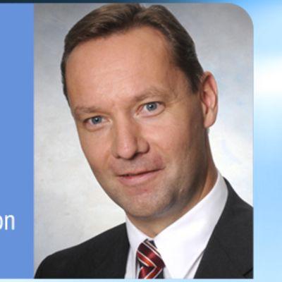 Kuvassa Johan Johansson.