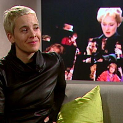 Candice Breitz Kulttuurikulman vieraana 25. helmikuuta 2010.