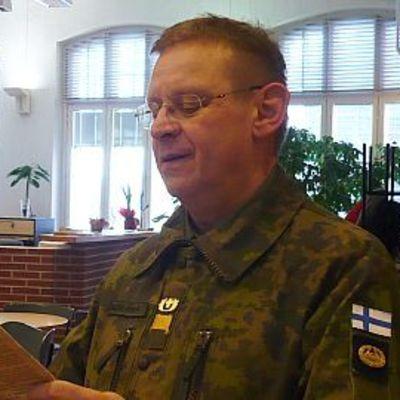 Sotilaspastori Kari Heiskanen