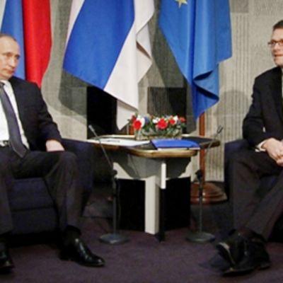 Vladimir Putin ja Matti Vanhanen