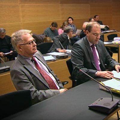 Pekka Paavola Helsingi käräjäoikeudessa