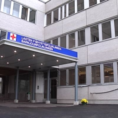 Jorvin sairaalan lasten päivystyspoliklinikka Espoossa