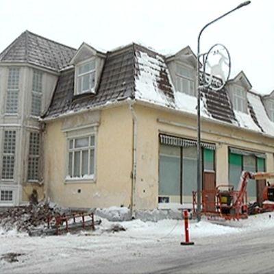 Apteekkari Bäckmanin talo Sastamalassa.