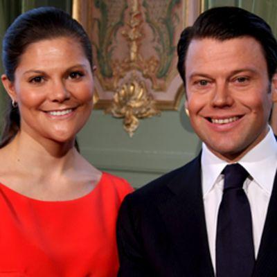 Kruununprinsessa Victoria ja Daniel Westling.
