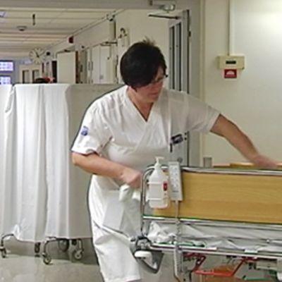 Ruotsalainen tartuntatauteihin erikoistunut sairaala. Smittskyddsinstitutet.