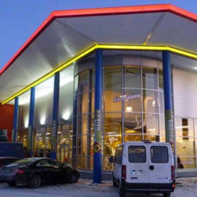 Torniossa avattiin Tex-myymälän laajennusosa vuonna 2009.