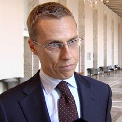 Ulkoministeri Alexander Stubb