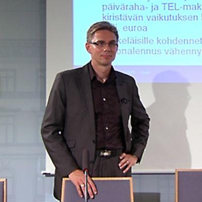 Valtiovarainministeri Jyrki Katainen
