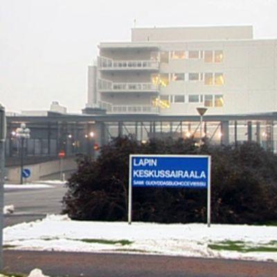 Lapin keskussairaala.