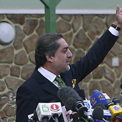 Presidenttiehdokas Abdullah Abdullah
