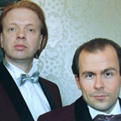 Kummelien Heikki Silvennoinen  ja Timo Kahilainen.
