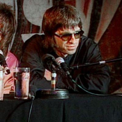 Liam ja Noel Gallagher.