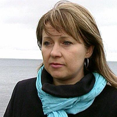 Estonian merionnetomuudesta pelastunut Siiri Sane.