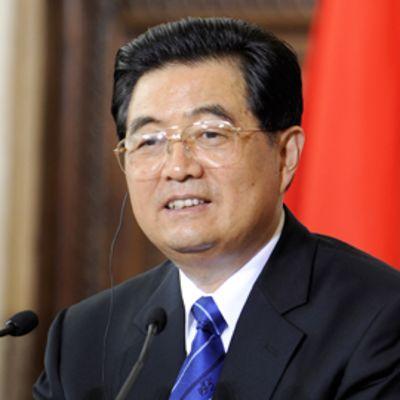 Kiinan presidentti Hu Jintao