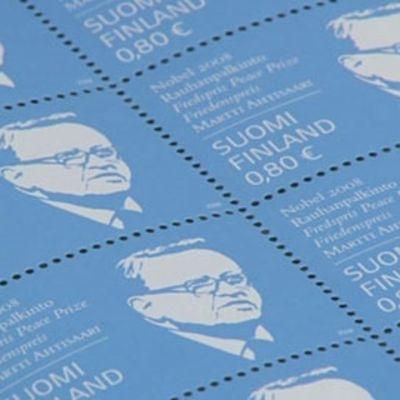 Ahtisaari-postimerkkejä