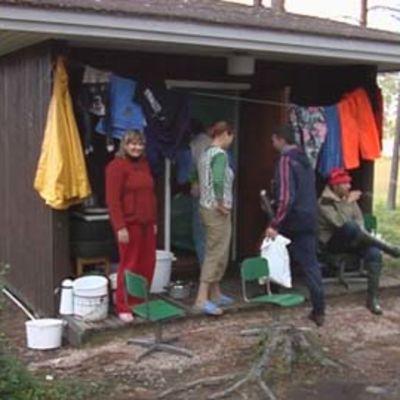 Ukrainalaiset poimijat Sodankylässä