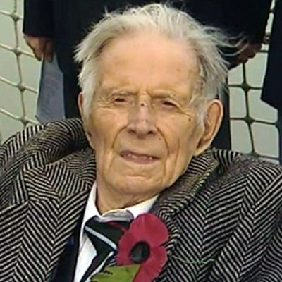 Britannian viimeinen ensimmäisen maailmansodan veteraani Harry Patch vuonna 2008.