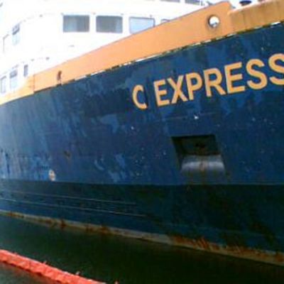 Laivavanhus C Express