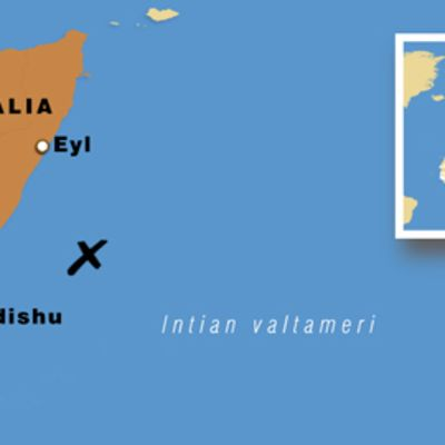 Somalian kartta