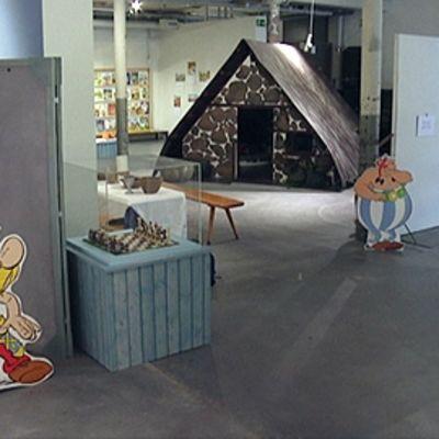 Asterix-näyttely.