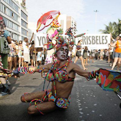 Ipanema Band -paraatia Rio de Janeirossa.