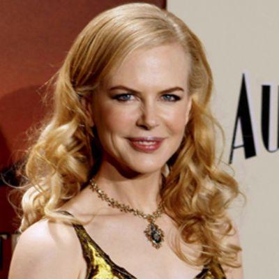 Nicole Kidman Australia elokuvan ensi-illassa joulukuussa 2008.