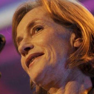 Isabelle Huppert elokuvafestivaaleilla Belgiassa lokakuussa 2008.