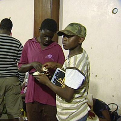 Zimbabwelaisia pakolaisia