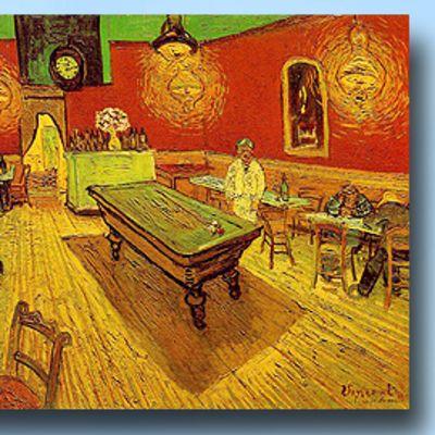 Vincent van Goghin maalaus Night café