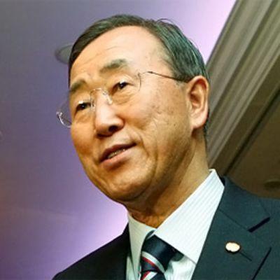 YK:n pääsihteeri Ban Ki-moon