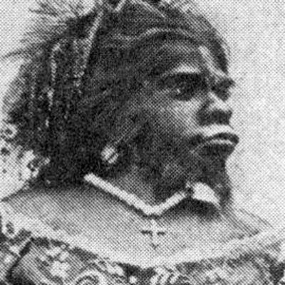 Skannaus kirjasta The Living Races of Mankind (1900).
