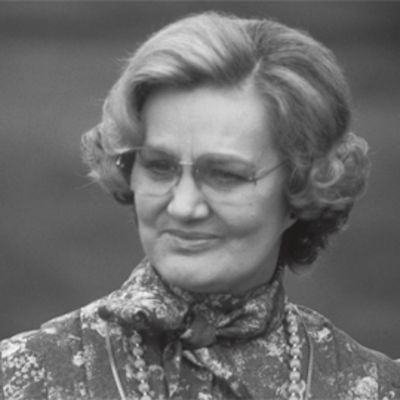 Kyllikki Virolainen vuonna 1985.