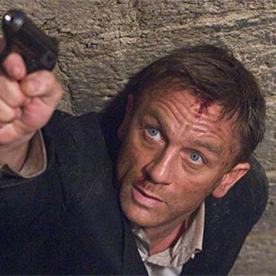 Daniel Craig James Bondina Quantum of Solace -elokuvassa