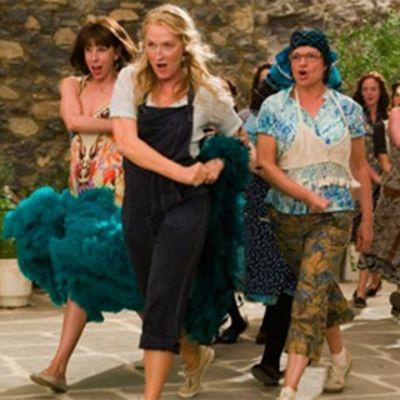 Kohtaus elokuvasta Mamma Mia