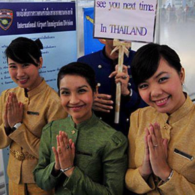 Bangkokin lentokenttä on jälleen avattu liikenteelle
