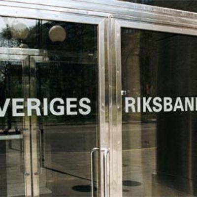Ruotsin keskuspankin ulko-ovi