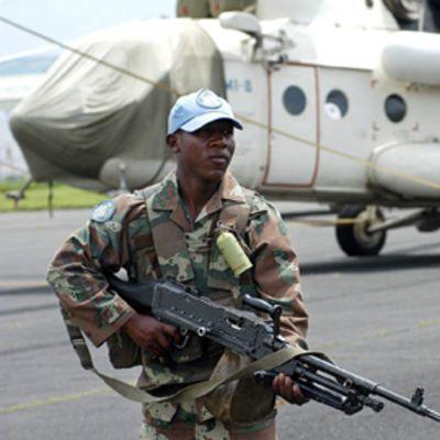 Eteläafrikkalainen rauhanturvaaja