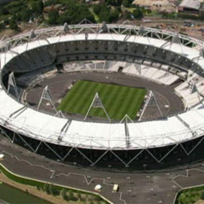 Lontoon Olympiastadion.
