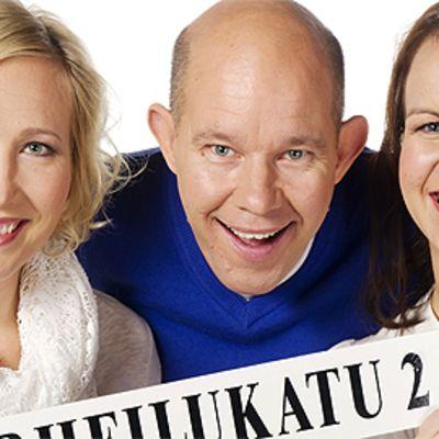 Inka Henelius, Kaj Kunnas ja Kristiina Kekäläinen.