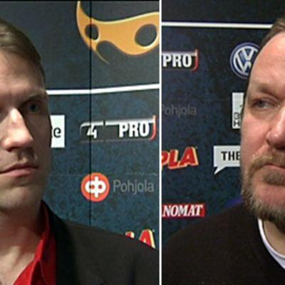 Tommy Koponen ja Iiro Parviainen