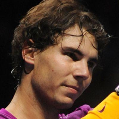 Rafael Nadal kuvassa