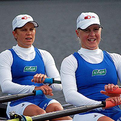 Sanna Sten ja Minna Nieminen.