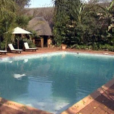 Hotellin uima-allas.