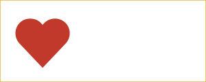 Sydän-kuvake eli -ikoni.