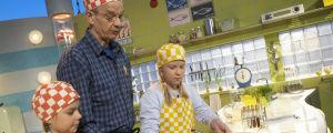 Anna Lähteenmäki, Jaakko Kolmonen, Janina Tynkky ohjelmassa Suolaa ja pippuria