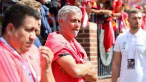 Jose Mourinho är tränare för ManU.