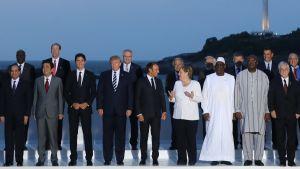 Gruppbild på G7 mötet
